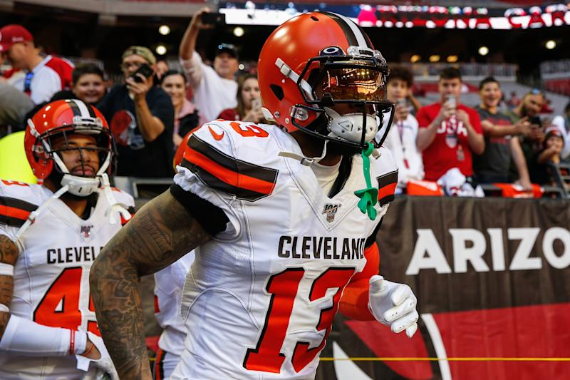 Odell Beckham Jr. on Browns speculation: 'I'm not going anywhere'