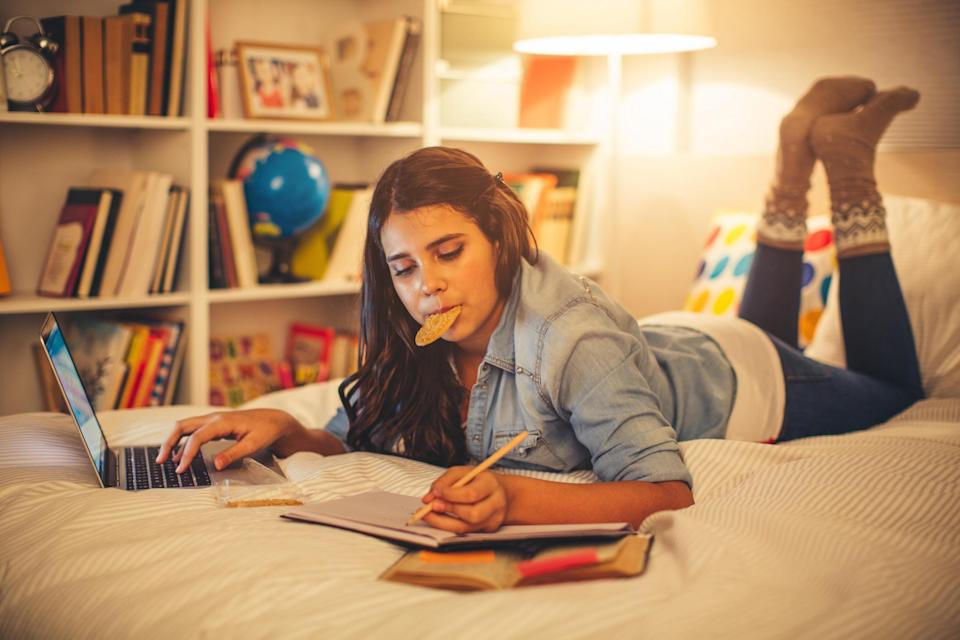 The report shows teenagers are snacking more in lockdown. (Getty Images)