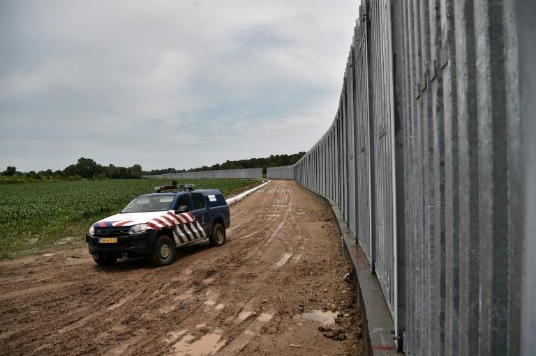 Local farmers say they see migrants regularly crossing the border in areas not covered by the fence