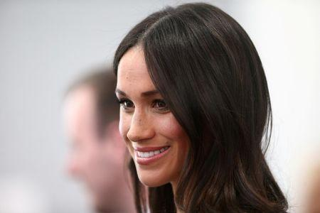 FILE PHOTO: Markle attends a reception with delegates from the Commonwealth Youth Forum in London