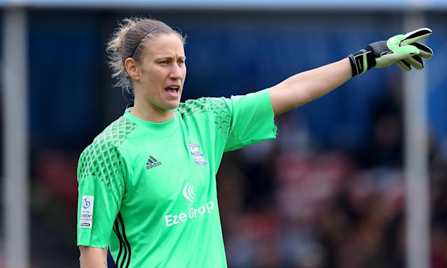 Birmingham City goalkeeper Ann-Katrin Berger was named joint WSL Players' Player of the Year alongside Manchester City's Jill Scott.