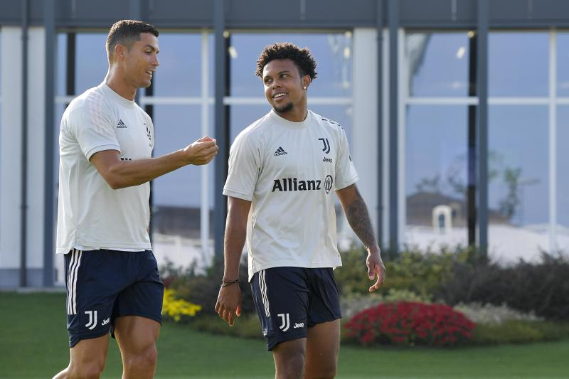 Usmnt S Weston Mckennie Goes Right Into Juventus Starting Lineup Alongside Cristiano Ronaldo