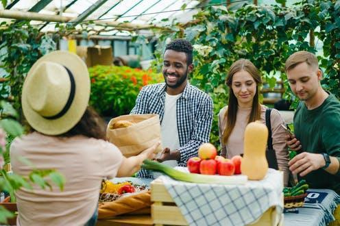 """<span class=""""attribution""""><a class=""""link rapid-noclick-resp"""" href=""""https://www.shutterstock.com/image-photo/happy-young-people-buying-organic-food-1506833060"""" rel=""""nofollow noopener"""" target=""""_blank"""" data-ylk=""""slk:silverkblackstock/Shutterstock"""">silverkblackstock/Shutterstock</a></span>"""