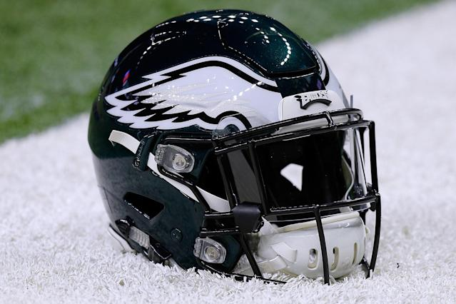 A domestic argument over the Eagles' loss on Sunday allegedly escalated to assault and the attacker putting the couple's dog in a microwave oven. (Getty)