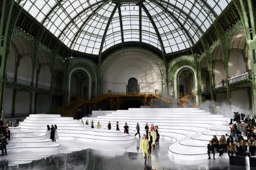 Chanel is looking to scale down its fashion shows in Paris which habitually take place at the Grand Palais