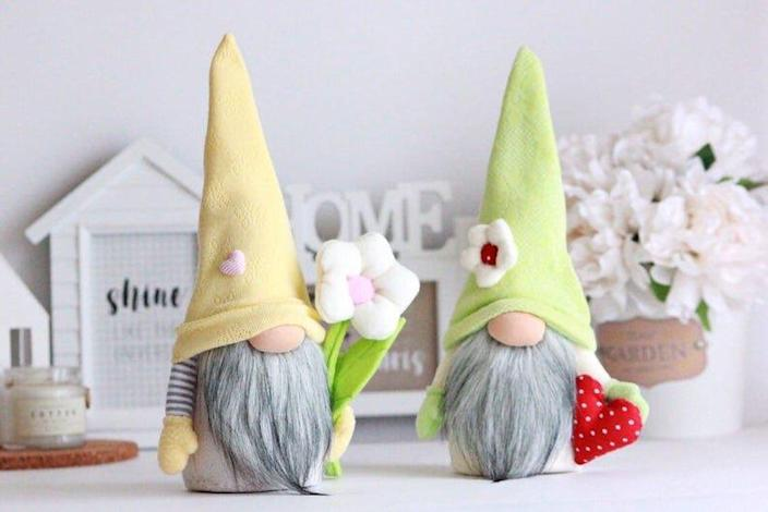 gnome garden decor.htm spring trend alert easter gnomes are the newest decorating craze  spring trend alert easter gnomes are