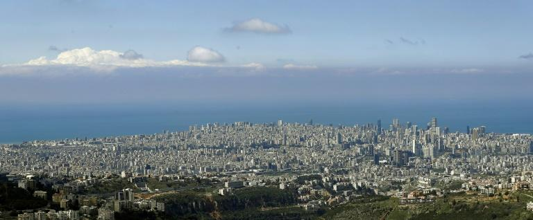 And breathe: A clear skyline over Beirut on Saturday as most people stay home following measures taken by the government to control the spread of the novel coronavirus