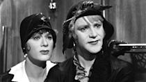 <p> Jazz musicians Joe (Tony Curtis) and Jerry (Jack Lemmon) end up on the run after witnessing the St. Valentines Day massacre. Masquerading as buxom women, they hide out as members of touring all-female music troupe, Sweet Sue's Society Syncopators - where they meet Sugar Kane (Marilyn Monroe), a breathy singer who they each attempt to woo. In disguise... </p> <p> Billy Wilder pulled out all the stops at a time when censors frowned upon any kind of sexual tomfoolery. Shocking the MPAA with his tale of two transvestites after a bit of hot totty while escaping the clutches of the law, there's no finer environment for Curtis and Lemmons' comedic skills. </p>