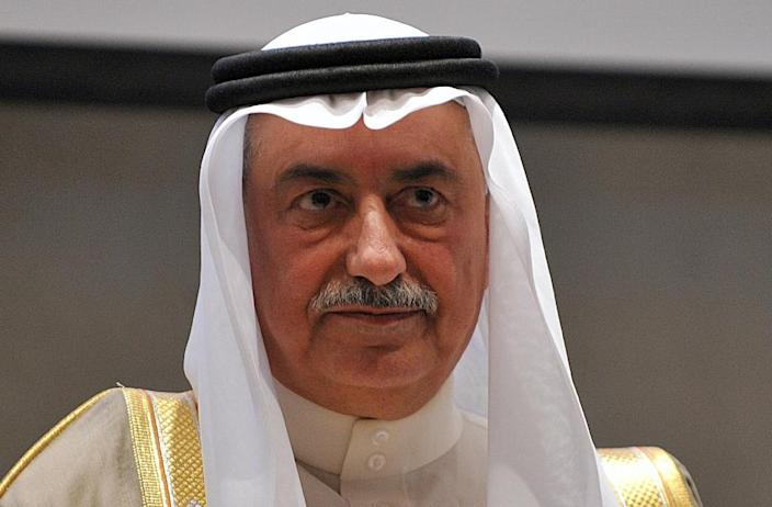 Saudi Arabian Finance Minister Ibrahim Al-Assaf attends a 2013 investor conference in Riyadh (AFP Photo/Fayez Nureldine)