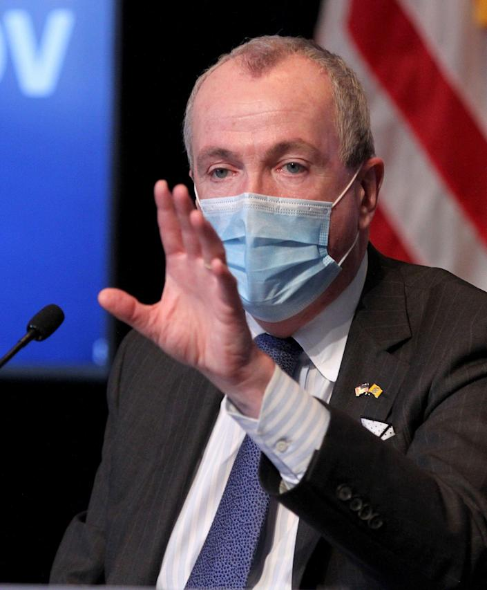 New Jersey Gov. Phil Murphy instituted restrictions on large gatherings in mid-March, as the novel coronavirus began spreading across the state.