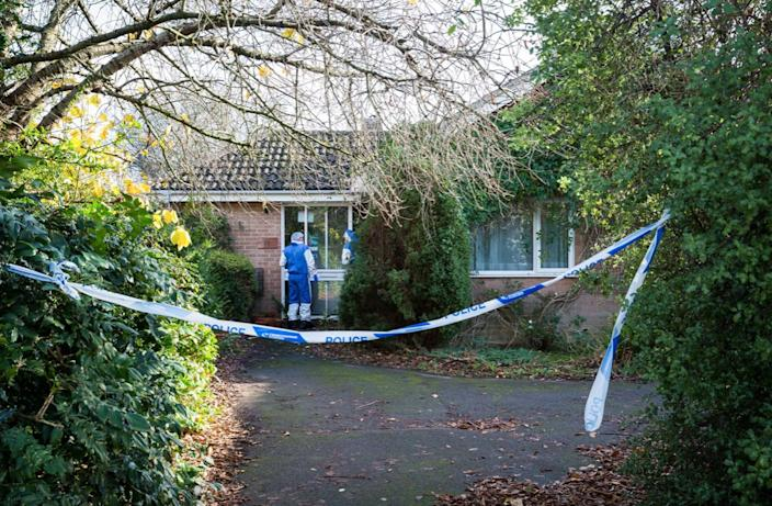Mr Booth was left for dead inside his home in Taunton, Somerset (SWNS)