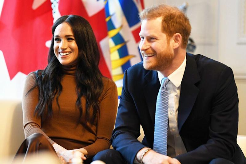 Prince Harry and Meghan Markle | DANIEL LEAL-OLIVAS/AFP via Getty