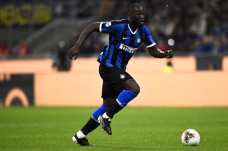 Romelu Lukaku and Inter Milan are looking to make a Serie A statement on Sunday. (Getty)