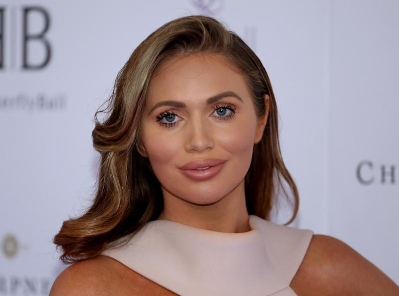 LONDON, UNITED KINGDOM - 2019/06/13: Amy Childs attending the Butterfly Ball 2019 at Grosvenor House in London. (Photo by Brett Cove/SOPA Images/LightRocket via Getty Images)