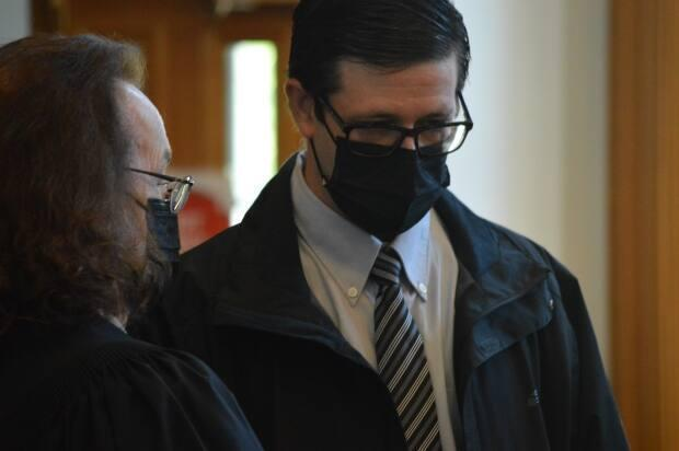 Steve Bragg admitted Monday to strangling Victoria Head in St. John's in 2017. (Malone Mullin/CBC - image credit)