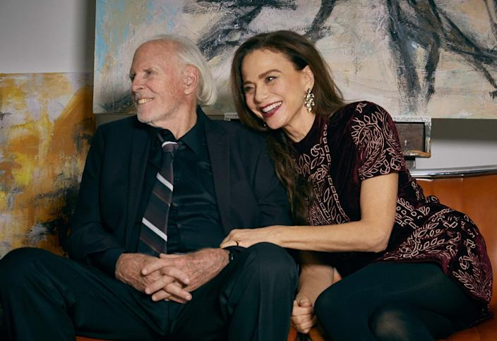"Bruce Dern stars as a famous painter diagnosed with Alzheimer's and Lena Olin is his caring spouse in the relationship drama ""The Artist's Wife."""