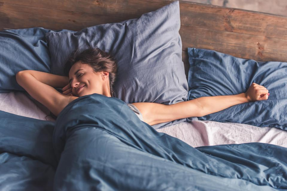 Could getting more sleep be the key to achieving your weight loss goals? [Photo: Getty]