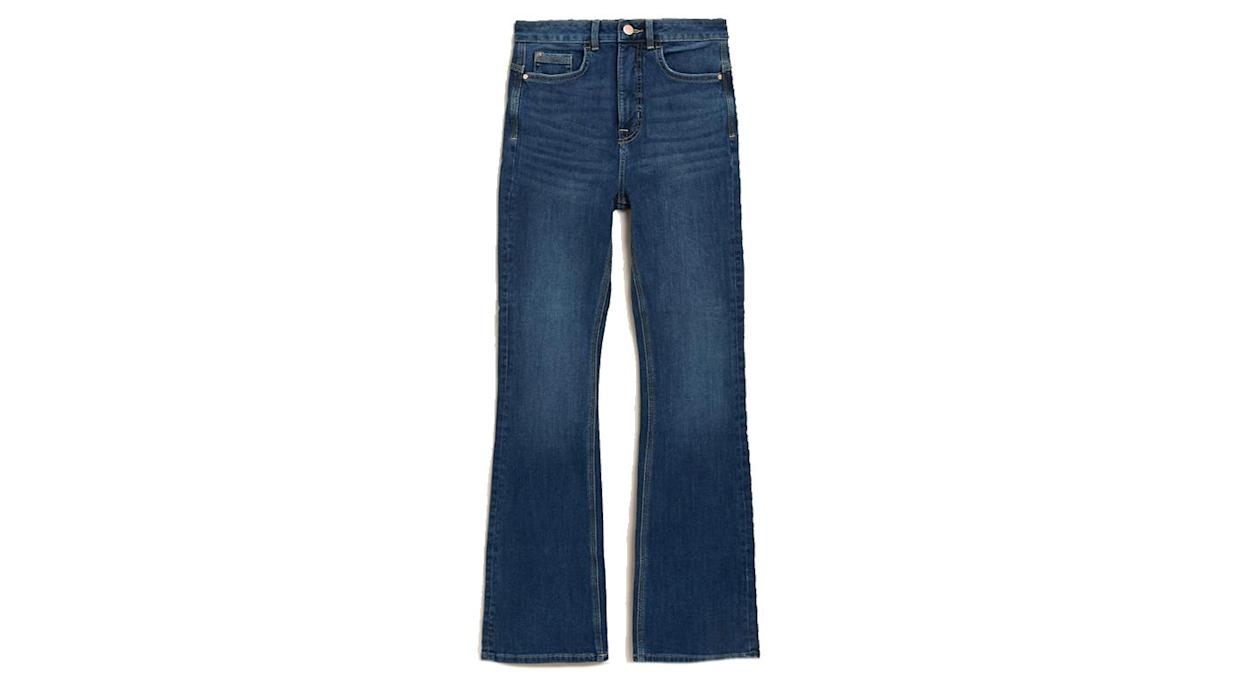 Magic Shaping High Waisted Slim Flare Jeans