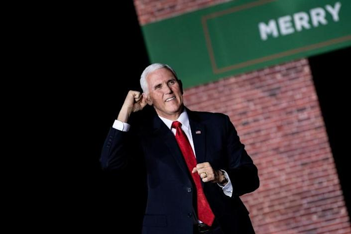 """Vice President Mike Pence has described himself as """"Christian, conservative and Republican, in that order"""" (AFP Photo/Brendan Smialowski)"""