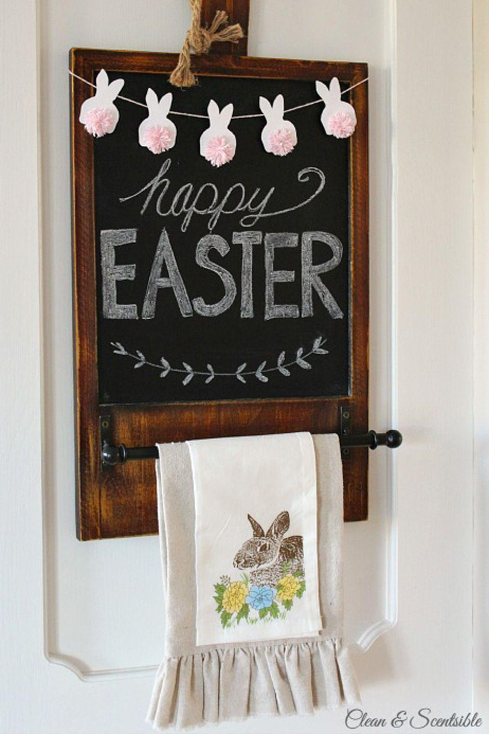 "<p>These teeny bunnies may seem like a small touch, but they make an adorable statement when they're strung together. </p><p><strong>Get the tutorial at <a href=""http://www.cleanandscentsible.com/2015/03/easter-mini-bunny-bunting.html"" rel=""nofollow noopener"" target=""_blank"" data-ylk=""slk:Clean and Scentsible"" class=""link rapid-noclick-resp"">Clean and Scentsible</a>.</strong></p><p><a class=""link rapid-noclick-resp"" href=""https://www.amazon.com/Lion-Brand-Yarn-215-140-Feels/dp/B079P99STM/ref=sr_1_2?tag=syn-yahoo-20&ascsubtag=%5Bartid%7C10050.g.1652%5Bsrc%7Cyahoo-us"" rel=""nofollow noopener"" target=""_blank"" data-ylk=""slk:SHOP PINK YARN"">SHOP PINK YARN</a></p>"