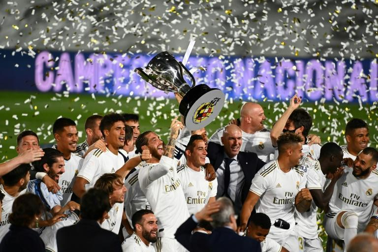 Champions in waiting: Real Madrid will sit out the first round of La Liga