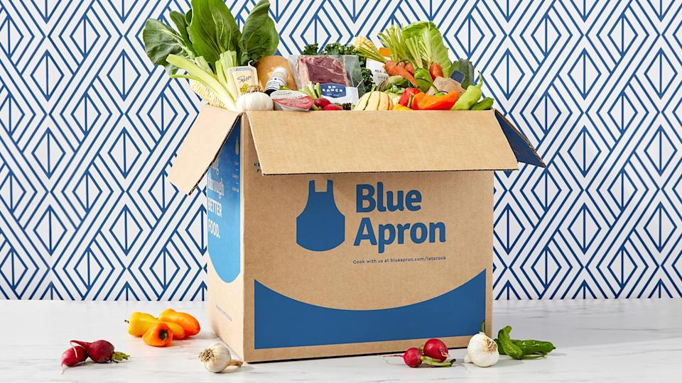 Blue Apron Meal Delivery Service Box