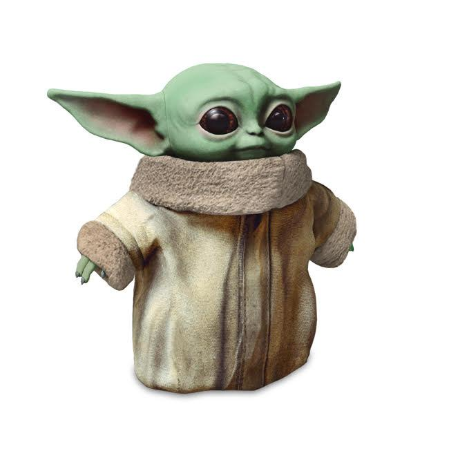 Mattel has an 11-inch Baby Yoda plush doll for your cuddling pleasure (Photo: Mattel)