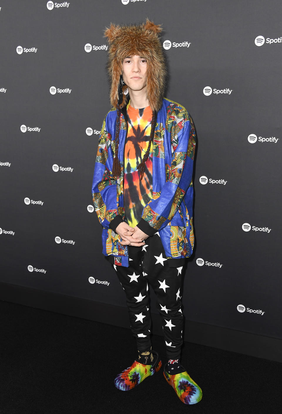 LOS ANGELES, CALIFORNIA - JANUARY 23: Jacob Collier attends Spotify Hosts