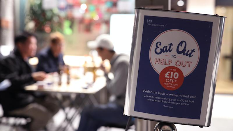 Eat Out to Help Out: Britons eat 100 million meals through scheme in August