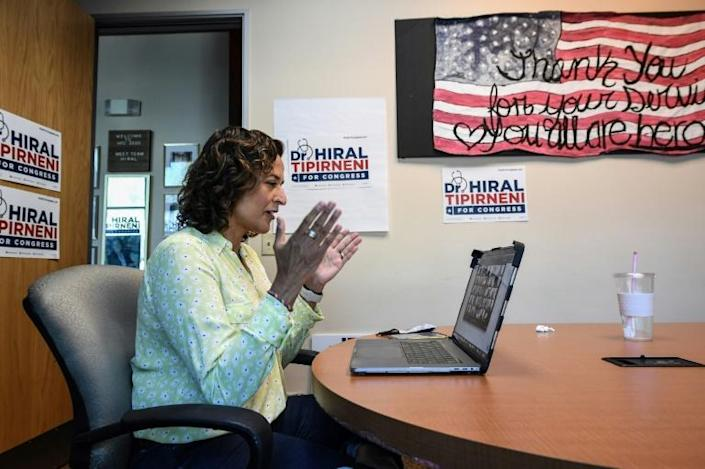 Hiral Tipirneni came to the United States from India as a child and became a doctor
