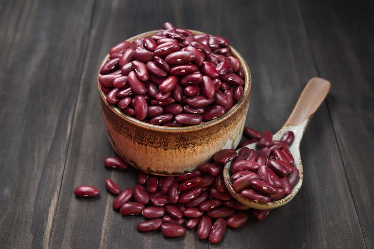"""<p>Beans come packed with vitamins, protein, fibre and other essentials that help with body restoration and maintenance (the heart being a big one here!). The also help when it comes cholesterol in that the fibre from beans can lower the levels of LDL (a.k.a. bad cholesterol). As noted in <em>Consumer Report</em>, according to a study in the <em>American Journal of Clinical Nutrition</em>, """"eating four half-cup servings of beans, peas, lentils, or tofu per week was linked to a 14 per cent decease in the risk of dying from ischemic heart disease. </p>"""