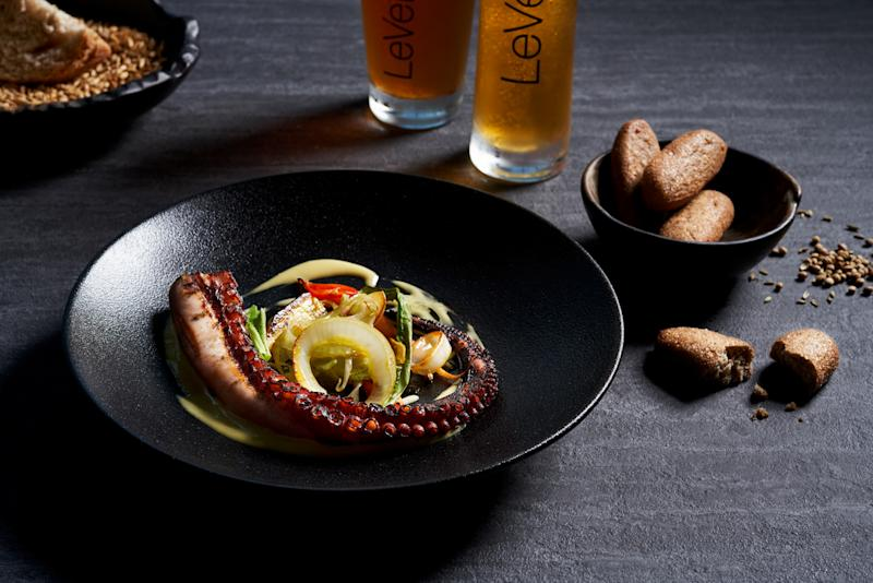 Grilled Octopus (PHOTO: LeVel 33)