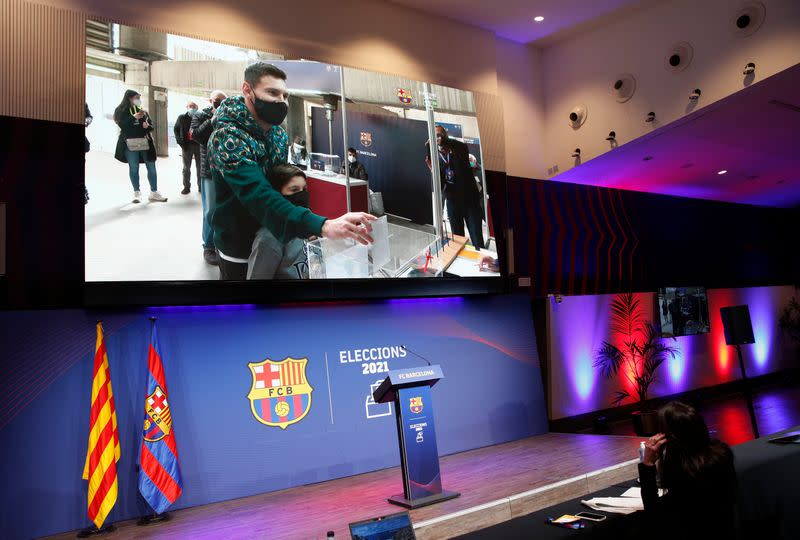 FC Barcelona elect a new club President