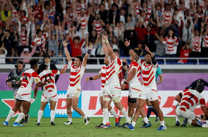 Japan to drop out of eight-team international rugby tournament - Kyodo