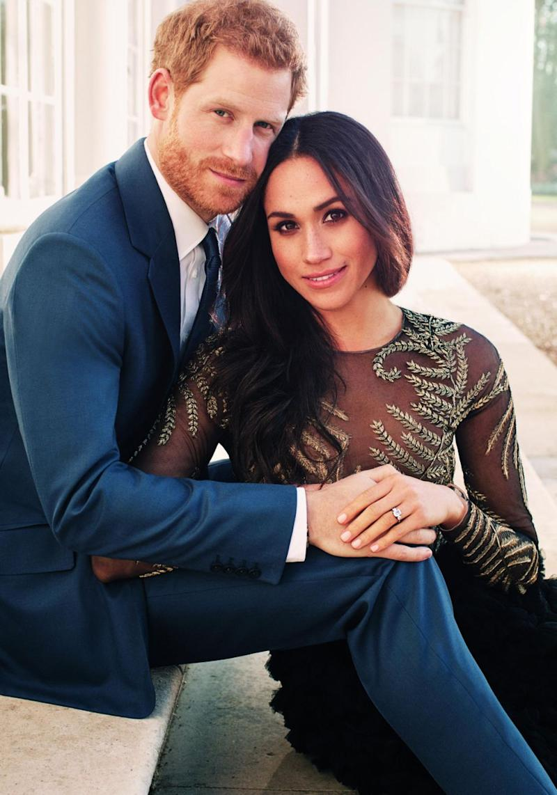 The TV movie will document Prince Harry and Meghan Markle's love story. Source: Getty
