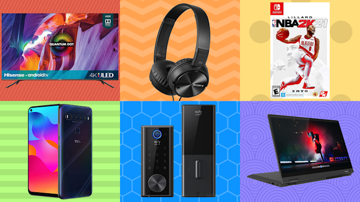 TVs, tablets, laptops, oh my: These extended Memorial Day sales are off the charts. (Photo: Yahoo Life)