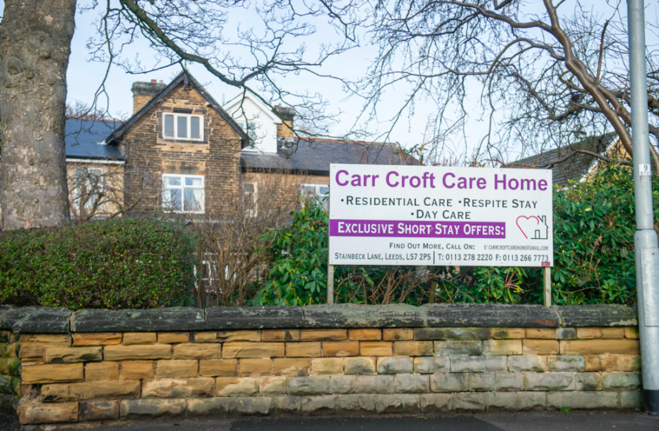 It's thought Carr Croft is one of only a handful of care homes in the UK which have avoided a single positive coronavirus test. (SWNS)