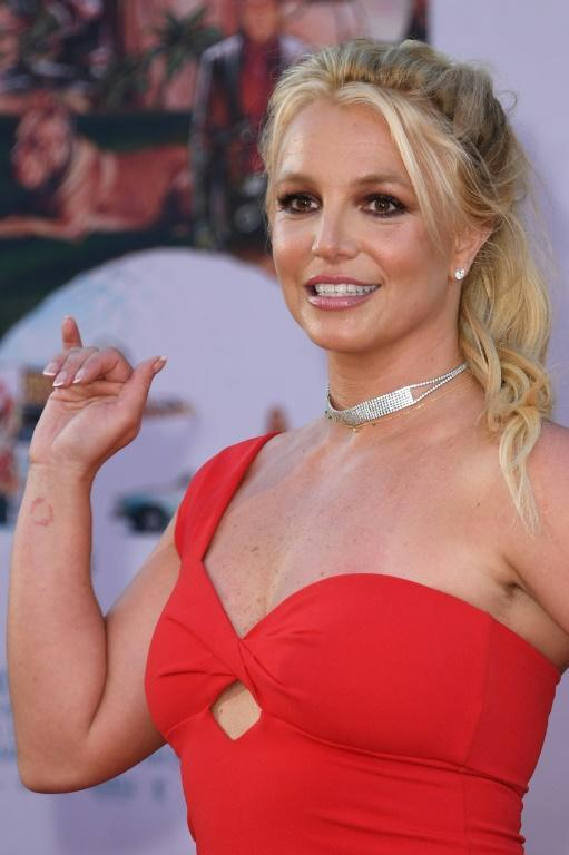 "Britney Spears, shown here at the premiere of ""Once Upon a Time... in Hollywood"" in July 2019"