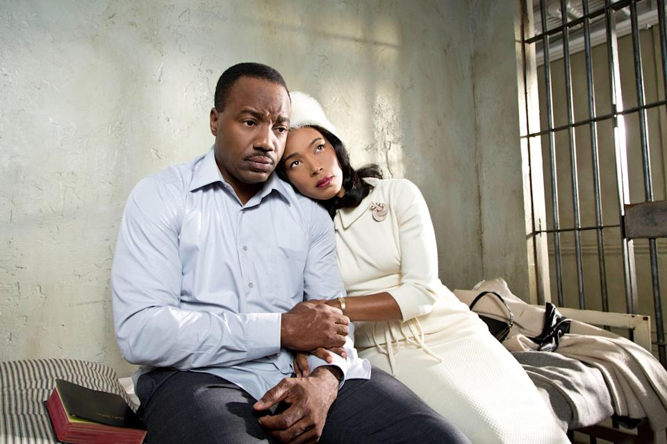 """<p>Mary J. Blige and Angela Bassett star in this drama as Dr. Betty Shabazz and Coretta Scott King, who developed a friendship after the deaths of their husbands, Malcom X and Martin Luther King Jr. Their bond helped carry on the civil rights movement and inspire a generation of women in the process. </p> <p><a href=""""https://www.amazon.com/Betty-Coretta-Universal-Music-Group/dp/B00BAJD1QK/ref=sr_1_1?dchild=1&keywords=Betty+and+Coretta&qid=1595442025&sr=8-1"""" rel=""""nofollow noopener"""" target=""""_blank"""" data-ylk=""""slk:Stream on Amazon Prime Video"""" class=""""link rapid-noclick-resp""""><em>Stream on Amazon Prime Video</em></a></p>"""