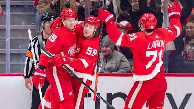 Red Wings hope for 'different opportunities' to stay sharp during long layoff