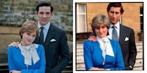 """<p>In 1981, the Prince of Wales proposed to Lady Diana Spencer with a sapphire ring, that <a href=""""https://www.elle.com/uk/life-and-culture/wedding/g28785354/royal-family-engagement-rings-meghan-markle-kate-middleton-queen/"""" rel=""""nofollow noopener"""" target=""""_blank"""" data-ylk=""""slk:now belongs to Kate Middleton."""" class=""""link rapid-noclick-resp"""">now belongs to Kate Middleton.</a> </p>"""