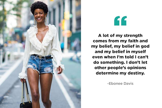 Ebonee Davis, activist and model (Photo: Getty, Art: Quinn Lemmers for Yahoo Lifestyle)