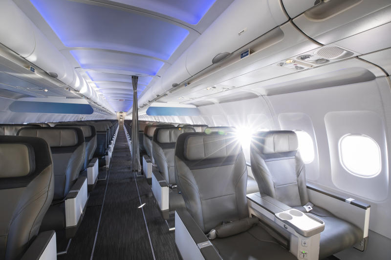 Now arriving: Alaska Airlines' new cabin experience
