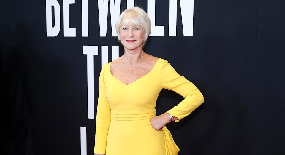 """Helen Mirren has revealed how she """"embarrassed"""" herself during tea with the Queen [Image: Getty]"""