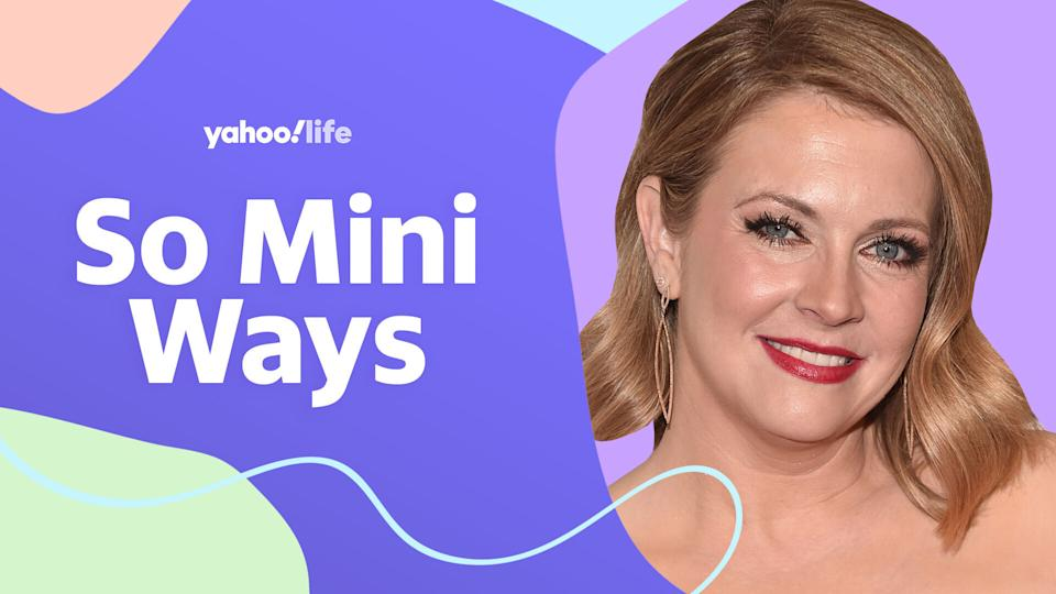 Melissa Joan Hart opens up about parenting during the pandemic and how she handles criticism online.  (Photo by Getty; designed by Quinn Lemmers)