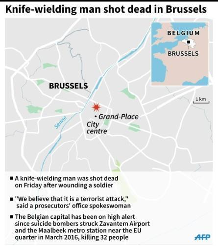 Police probing knife attacks in Brussels and London