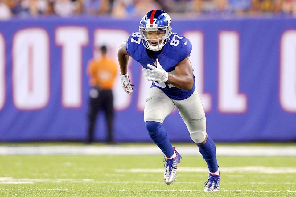 Sterling Shepard is one of the rookies our experts are high on for this season.