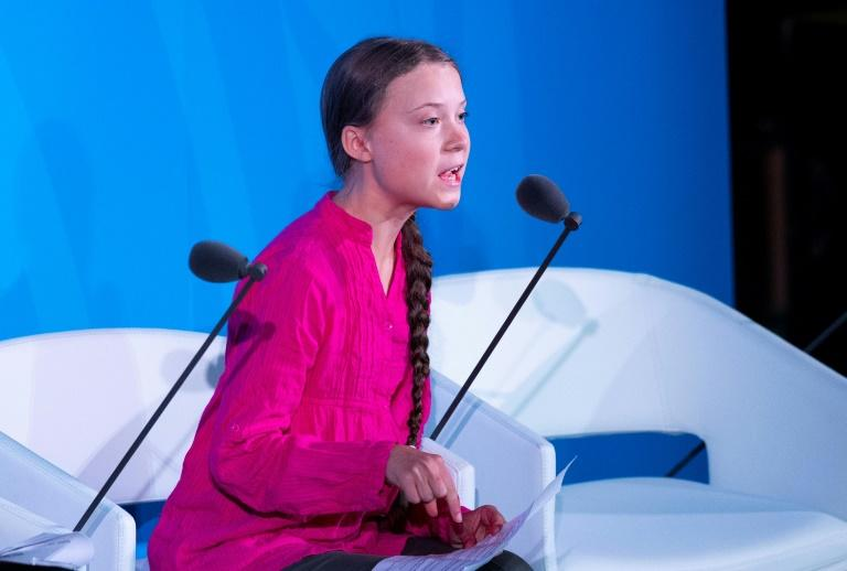Climate activist Greta Thunberg accused world leaders of betraying her generation through their inaction on reducing greenhouse gas emissions