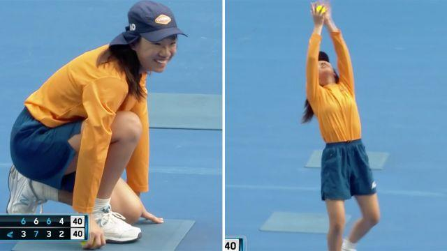 Well done young lady. Image: Channel 7