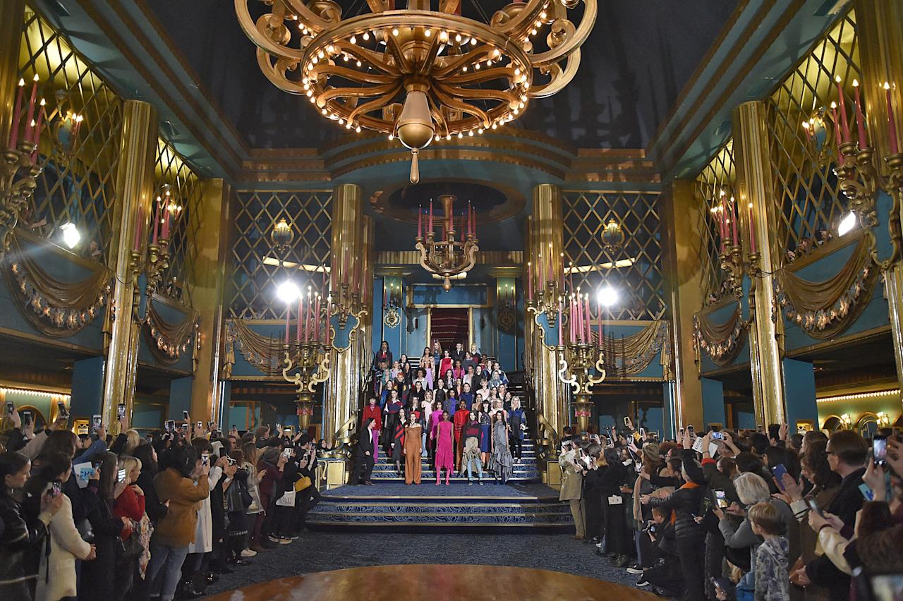 <p>Koche showed its Fall/Winter 2017 collection at Folies Bergère, which is a historical cabaret music hall, located in Paris, France.</p>